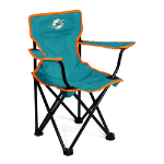 Miami Dolphins Toddler Canvas Chair w/ Officially Licensed Team Logo