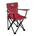 San Francisco 49ers Toddler Canvas Chair w/ Officially Licensed Team Logo