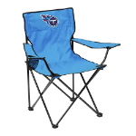 Tennessee Titans Quad Canvas Chair w/ Officially Licensed Team Logo