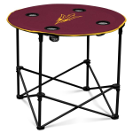 Arizona State Sun Devils Round Tailgating Table