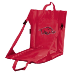 Arkansas Stadium Seat w/ Razorbacks Logo - Cushioned Back