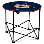 Auburn Tigers Round Tailgating Table