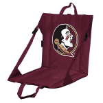 Florida State Stadium Seat w/ Seminoles Logo - Cushioned Back