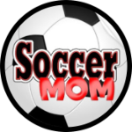 Soccer Mom Tire Cover on Black Vinyl