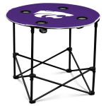 Kansas State Wildcats Round Tailgating Table