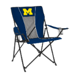 Michigan Game Time Chair w/ Wolverines Logo