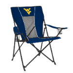 West Virginia Game Time Chair w/ Mountaineers Logo