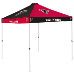Atlanta Tent w/ Falcons Logo - 9 x 9 Checkerboard Canopy