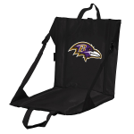 Baltimore Stadium Seat w/ Ravens Logo - Cushioned Back