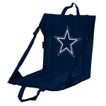 Dallas Stadium Seat w/ Cowboys Logo - Cushioned Back