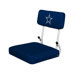Dallas Stadium Seat w/ Cowboys Logo - Hardback