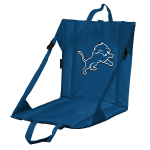 Detroit Stadium Seat w/ Lions Logo - Cushioned Back