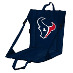 Houston Stadium Seat w/ Texans Logo - Cushioned Back