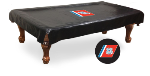 US Coast Guard Pool Table Cover w/ Military Logo - Black Vinyl