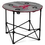 Alabama Crimson Tide Houndstooth Round Tailgating Table