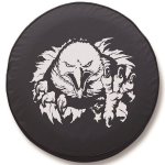 Eagle Clawing Tire Cover on Black Vinyl