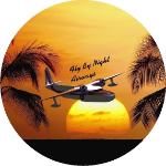 Fly By Night Tire Cover on Black Vinyl