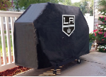 Los Angeles Grill Cover with Kings Logo on Black Vinyl