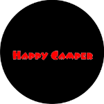 Happy Camper Spare Tire Cover on Black Vinyl