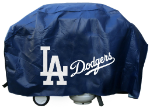 Los Angeles Grill Cover with Dodgers Logo on Black Vinyl - Deluxe