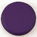 Purple Tire Cover for Jeep and RV - Plain Vinyl