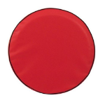 Red Tire Cover for Jeep and RV - Plain Vinyl