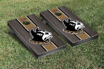 Wofford Cornhole Boards w/ Terriers Logo - Bean Bag Toss
