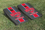 Southern Methodist Cornhole Boards w/ Mustangs Logo