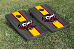 Temple Cornhole Boards w/ Owls Logo - Bean Bag Toss