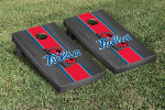 Tulsa Cornhole Boards w/ Golden Hurricanes Logo - Bean Bag