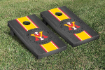 Virginia Military Institute Cornhole Boards - Bean Bag Toss
