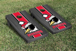 Youngstown State Cornhole Boards w/ Penguins Logo