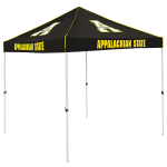 Appalachian State Tent w/ Mountaineers Logo - 9 x 9 Solid Color Canopy