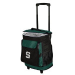 Michigan State Rolling Cooler w/ Spartans Logo - 24 Cans