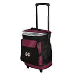 Mississippi State Rolling Cooler w/ Bulldogs Logo - 24 Cans