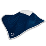 Penn State Blanket w/ Nittany Lions Logo - Sherpa Throw