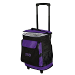 Texas Christian Rolling Cooler w/ Horned Frogs Logo - 24 Cans