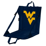 West Virginia Stadium Seat w/ Mountaineers Logo - Cushioned Back