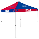 Buffalo Tent w/ Bills Logo - 9 x 9 Checkerboard Canopy