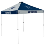 Dallas Tent w/ Cowboys Logo - 9 x 9 Checkerboard Canopy
