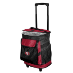 San Francisco Rolling Cooler w/ 49ers Logo - 24 Cans