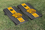 Arkansas Pine Bluff Cornhole Boards w/ Lions Logo - Bean Bag