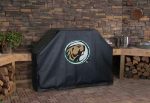 Bermidji State Grill Cover with Beavers Logo on Black Vinyl