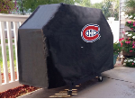 Montreal Grill Cover with Canadiens Logo on Black Vinyl