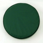 Green Tire Cover for Jeep and RV - Plain Vinyl