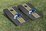 Akron Cornhole Boards w/ Zips Logo - Bean Bag Toss