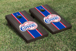 Los Angeles Cornhole Boards w/ Clippers Logo - Bean Bag