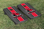 Miami Cornhole Boards w/ Redhawks Logo - Bean Bag Toss