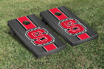 NC State Cornhole Boards w/ Wolfpack Logo - Bean Bag Toss