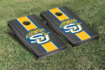 Southern A&M Cornhole Boards w/ Jaguars Logo - Bean Bag